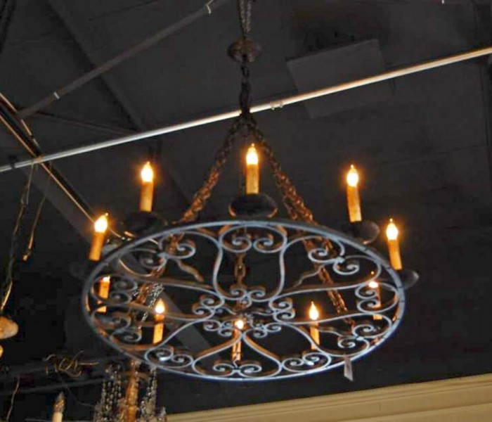 Lights And Chandeliers Wrought Iron, Wrought Iron Chandelier Nz